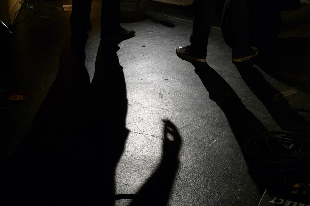 Shadows on set