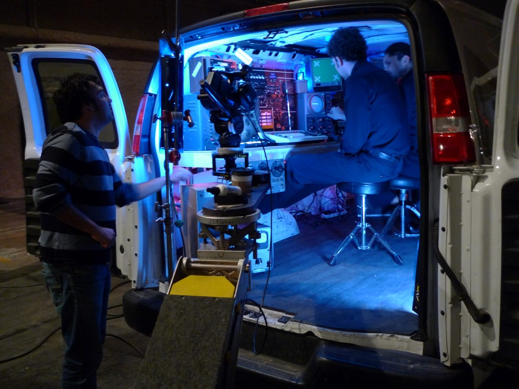 The guys in the van