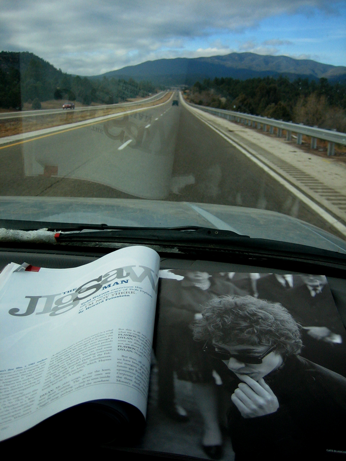 Bob on the road