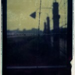 Polaroid transfer (8x10) of Dachau Concentration Camp, Germany