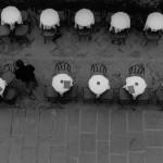 Sidewalk Cafe - Florence, Italy