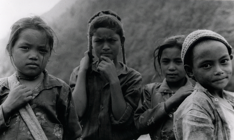 Mountain Kids - Nepal