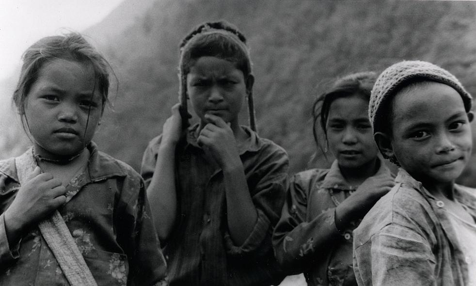 Mountain Kids - Nepal