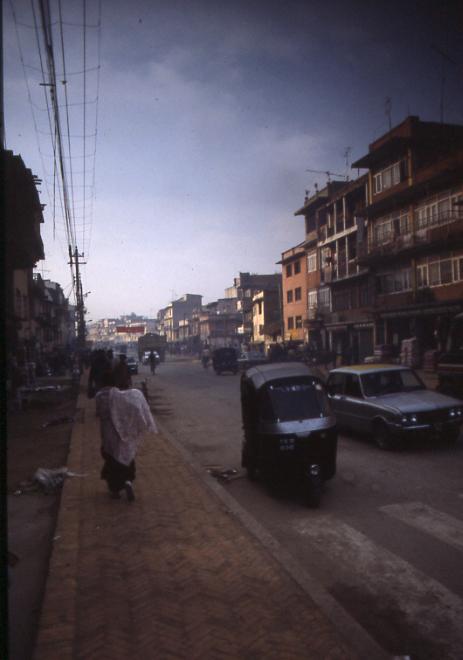 Kathmandu Street - Kathmandu, Nepal