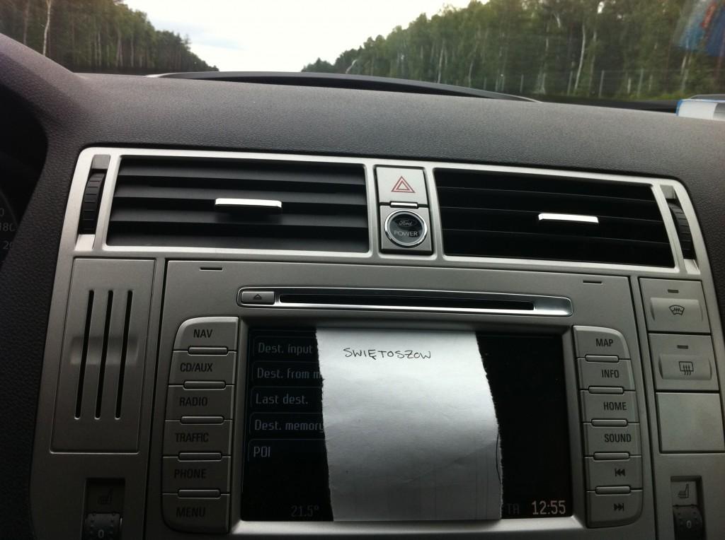 New navigation system.